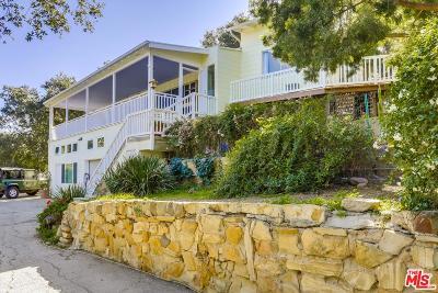 Topanga Single Family Home For Sale: 21875 Nutrir Way