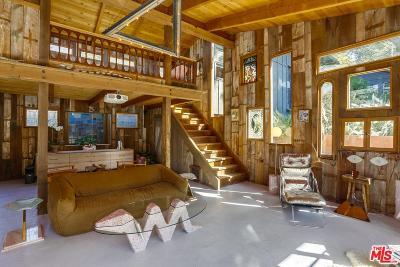 Topanga Single Family Home For Sale: 1412 Old Topanga Canyon Road