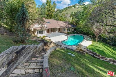 Beverly Hills Single Family Home For Sale: 1119 Schuyler Road