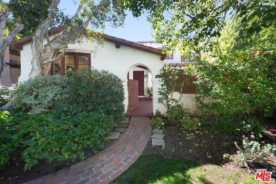 Los Angeles CA Single Family Home For Sale: $1,998,000