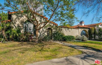 Single Family Home For Sale: 6417 San Vicente Boulevard