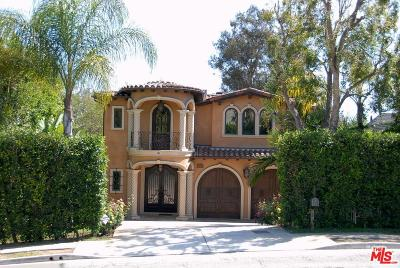 Single Family Home For Sale: 12652 West Sunset Boulevard
