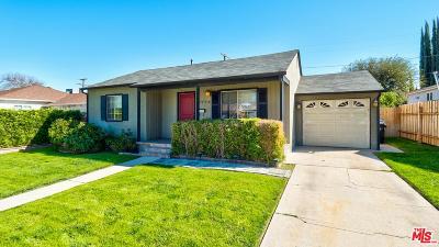 Encino Single Family Home For Sale: 5956 Alonzo Avenue