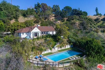 Beverly Hills Single Family Home For Sale: 2828 Benedict Canyon Drive