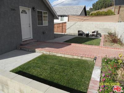 Los Angeles Single Family Home For Sale: 3103 Eva Terrace