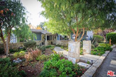 La Canada Flintridge Single Family Home For Sale: 5167 Ocean View