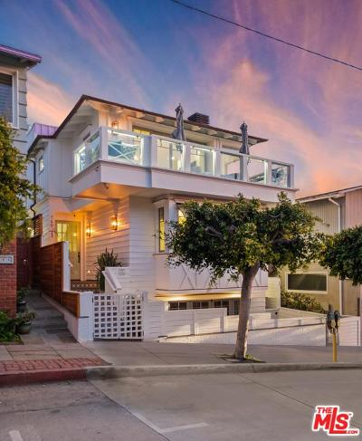 Hermosa Beach Single Family Home For Sale: 140 34th Street