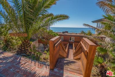 Malibu Single Family Home For Sale: 43000 Pacific Coast Highway