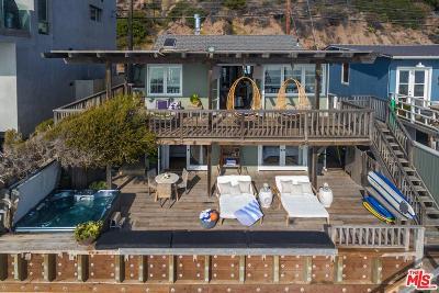 Malibu Single Family Home For Sale: 20816 Pacific Coast Highway