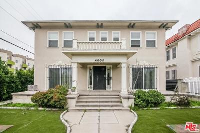 Los Angeles County Single Family Home For Sale: 4000 Ingraham Street