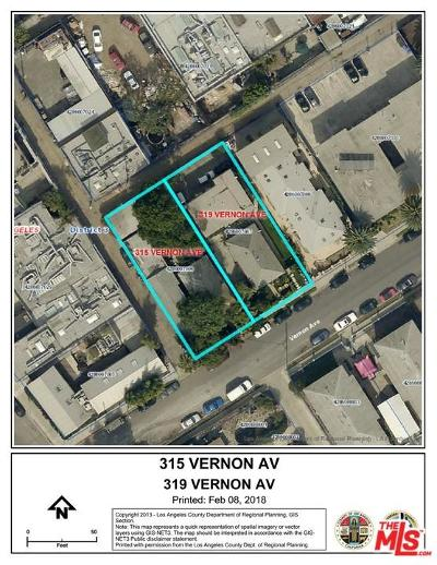 Venice Residential Lots & Land For Sale: 319 Vernon Avenue
