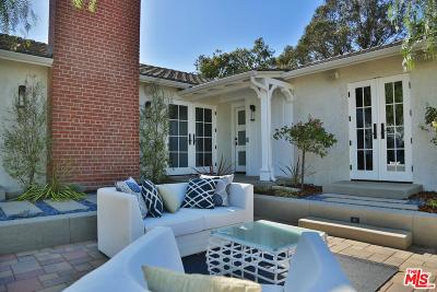 Single Family Home For Sale: 12417 Mulholland Drive