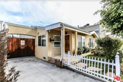 Los Angeles County Single Family Home For Sale: 1424 South Redondo