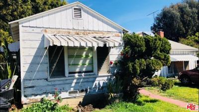 Inglewood Single Family Home For Sale: 891 Kincaid Avenue