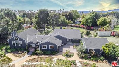 Malibu Single Family Home For Sale: 6539 Wandermere Road