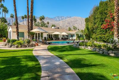 Palm Springs CA Single Family Home For Sale: $1,450,000