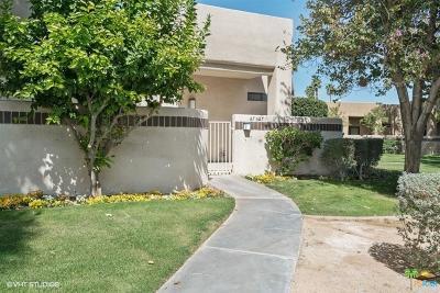 Cathedral City Condo/Townhouse For Sale: 67627 La Vista Court