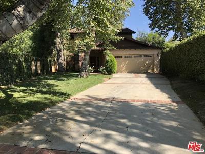 Woodland Hills Rental For Rent: 23333 Gonzales Drive