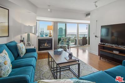 Marina Del Rey Condo/Townhouse Sold: 13600 Marina Pointe Drive #806