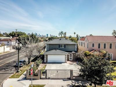 Los Angeles County Single Family Home For Sale: 800 South Bronson Avenue