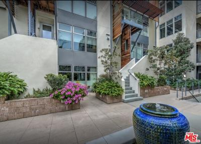Los Angeles County Condo/Townhouse For Sale: 1250 North Harper Avenue #411