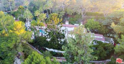 Single Family Home For Sale: 7310 Mulholland Drive