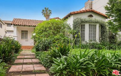 West Hollywood Single Family Home For Sale: 718 Westbourne Drive