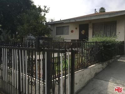 Los Angeles Single Family Home For Sale: 821 Lopez Avenue
