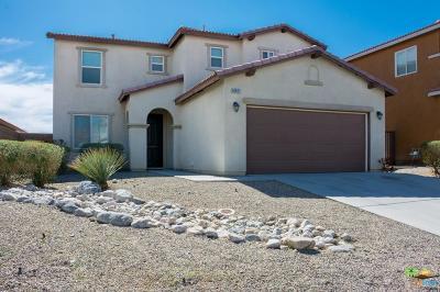 Desert Hot Springs Single Family Home For Sale: 62821 Kitetail Drive