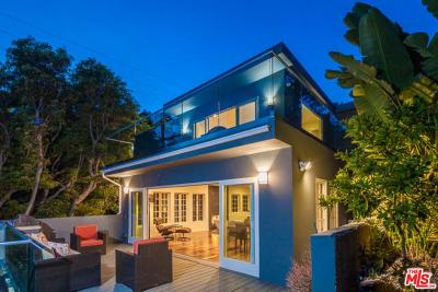 Los Angeles County Single Family Home For Sale: 1588 North Doheny Drive