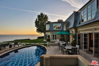 Malibu CA Single Family Home For Sale: $27,500,000