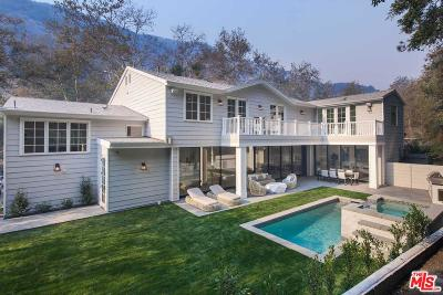 Los Angeles County Single Family Home For Sale: 2794 Mandeville Canyon Road