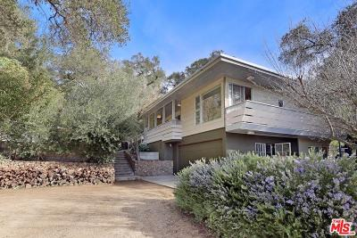Topanga Single Family Home For Sale: 274 Muerdago Road