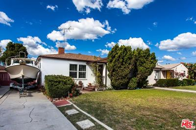 Culver City Single Family Home For Sale: 11329 Youngworth Street