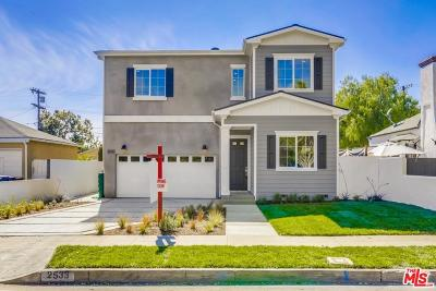 Single Family Home For Sale: 2533 Coolidge Avenue