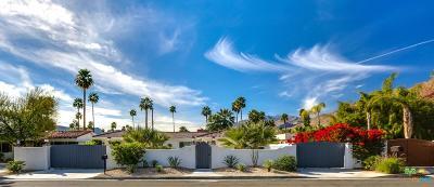 Palm Springs Single Family Home For Sale: 185 East Palo Verde Avenue
