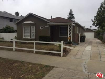 Culver City Single Family Home For Sale: 4233 East