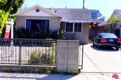 Venice Single Family Home For Sale: 664 Indiana Avenue