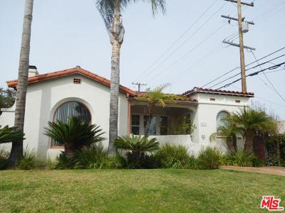 Los Angeles Single Family Home For Sale: 3617 West 61st Street