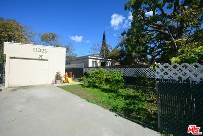 Single Family Home For Sale: 11329 Venice