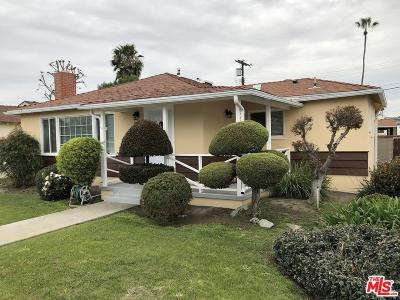 Culver City Single Family Home For Sale: 12316 Aneta Street