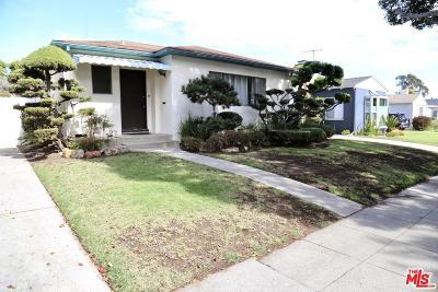 Santa Monica CA Single Family Home For Sale: $1,595,000