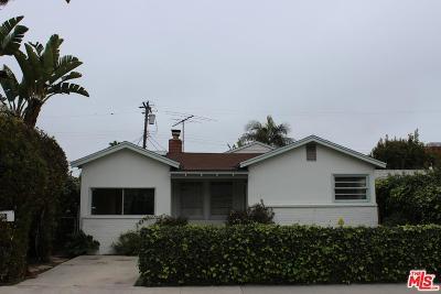 Venice Single Family Home For Sale: 2330 Cloy Avenue