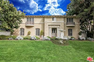 Los Angeles County Single Family Home For Sale: 626 South Plymouth