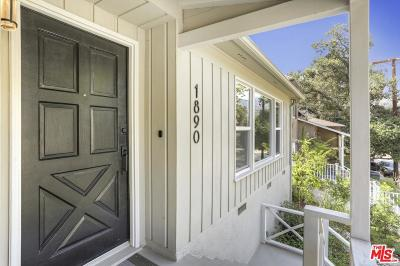 Glendale Single Family Home For Sale: 1890 Los Encinos Avenue