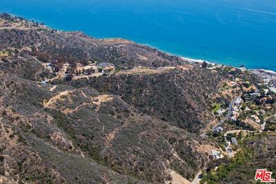 Malibu Residential Lots & Land For Sale: 20715 Las Flores Mesa Drive
