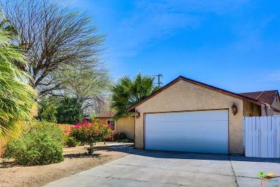 Palm Springs Single Family Home For Sale: 3679 Arnico Street
