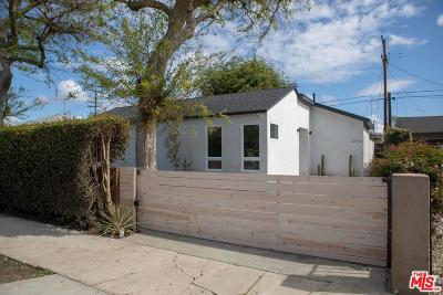Culver City Single Family Home For Sale: 11918 McDonald Street