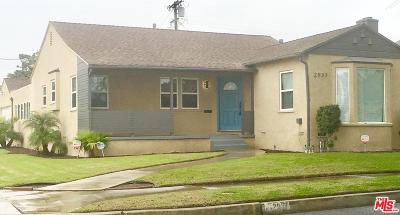 Inglewood Single Family Home For Sale: 2937 West 95th Street