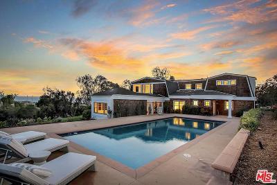 Malibu Single Family Home For Sale: 5920 Clover Heights Avenue